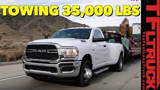 2019 Ram 3500 HD Tows the Maximum Load with 1,000 Lb-ft of Torque!