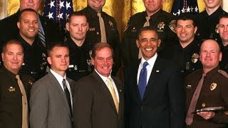 President Obama Honors the Nations TOP COPS