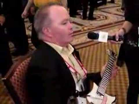 Guitar Wizard | Engadget at CES 2008