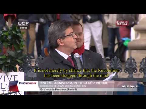 Pt 2- J-L MELENCHON CELEBRATES 220th ANNIVERSARY OF FRENCH REPUBLIC.flv