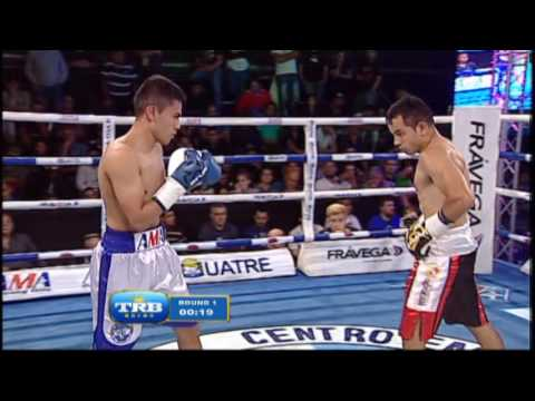 JUNIOR ZARATE VS FABIAN CLARO - TRB BOXEO 21/04/2017