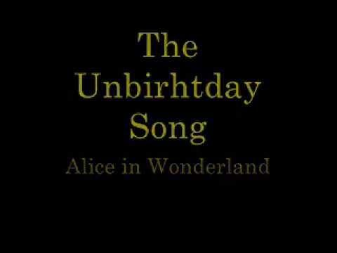 The Unbirthday Song   lyrics