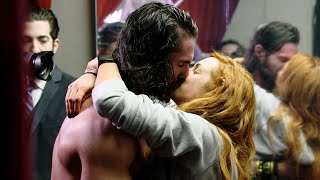 Becky Lynch & Seth Rollins share an intimate moment: WWE 24: WrestleMania New York sneak peek