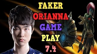 download lagu Skt T1 Faker Orianna Mİd Gameplay 7.4 Season 7 gratis