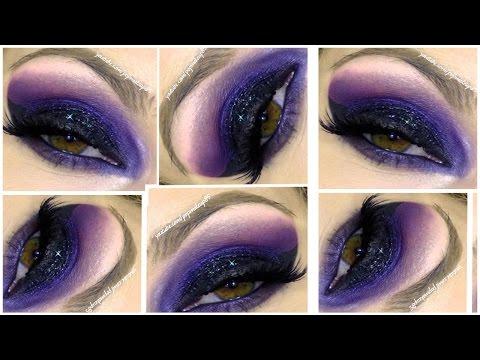 Trucco Dark Gothic: smokey eyes viola e labbra scure!