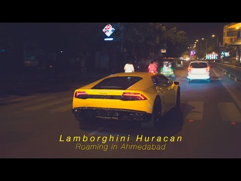 Lamborghini Huracan LP 610 - 4 in Giallo Midas shade from Ahmedabad | Video by TeamSSIA