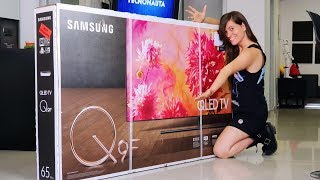 LA TV MÁS CARA DE SAMSUNG!! Unboxing Mundial