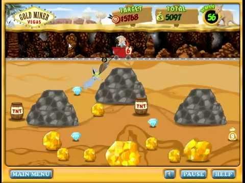 gold miners vegas