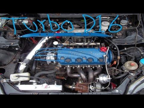Ebay Turbo Civic D16Y8 SOHC VTEC Build Low Budget