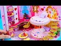 DIY Miniature Dollhouse Room ~ Belle (Beauty and the Beast) Room Decor, Backpack #19