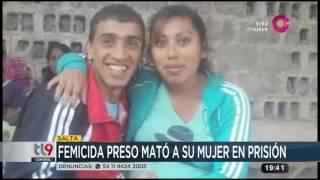 Ella fue a visitarlo a la cárcel, él la mató