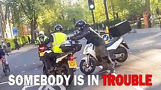 EXTREMELY STUPID & ANGRY PEOPLE vs BIKER | BEST OF UK RAGE |  Premises187