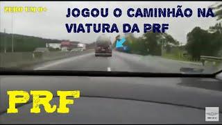 CAMINHÃO ROUBADO PERSEGUIÇÃO PRF