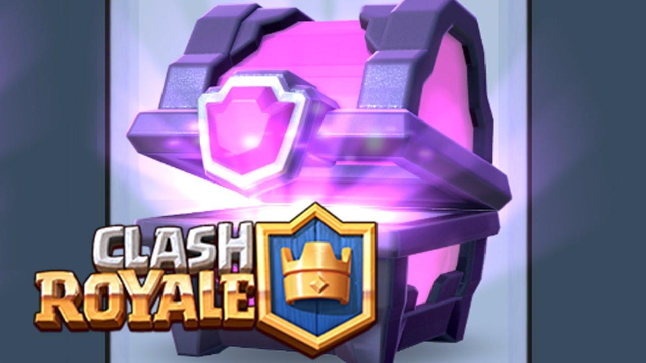 Как сделать сундук из clash royale
