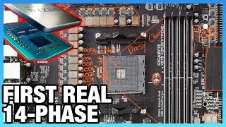 Gigabyte X570 Xtreme Motherboard Analysis: True 14-Phase VRM