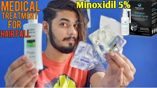 Medical Treatment For Hair Fall | Minoxidil 5% & Dr. Recommendation |