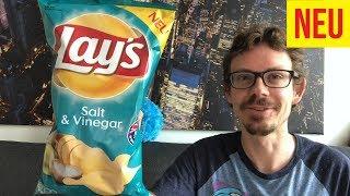 Lays Salt & Vinegar Chips im Test: Besser als Walkers aus England?!