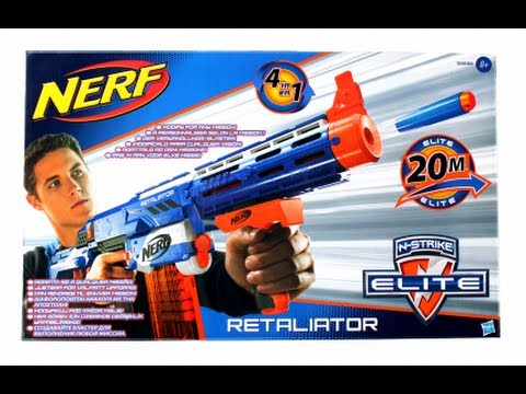 [[GERMAN]]NERF Elite Retaliator Unboxing + Review!