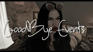 Second Life!  Goodbye Events