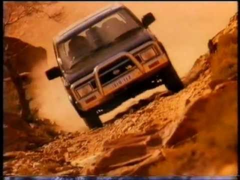 Nissan Pathfinder commercial (1992)