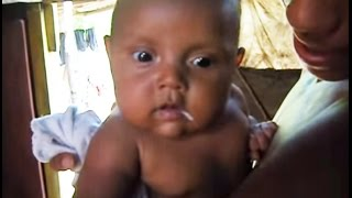 Niño de dos meses que habla en Rivas, Nicaragua