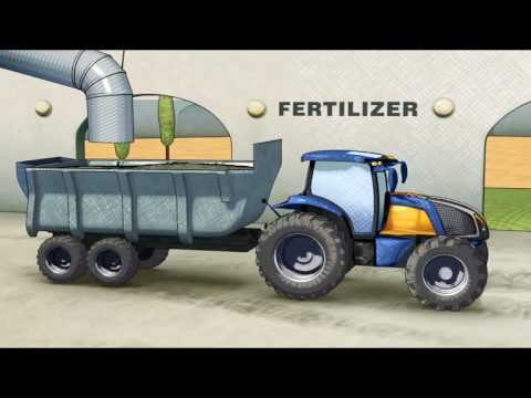 New Holland Independant Energy Farm featuring the H2 hydrogen tractor