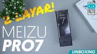 TURUN HARGA, Hape 2 Layar Ini Jadi Ga sih Dijual RESMI? Unboxing Meizu Pro 7 RED