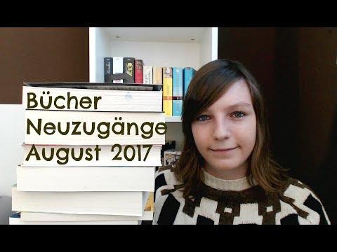 Bücher Neuzugänge August 2017