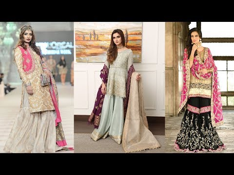trending 2018 pakistani sharara designs images
