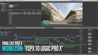Workflow: FCPX to LogicProX ...and back