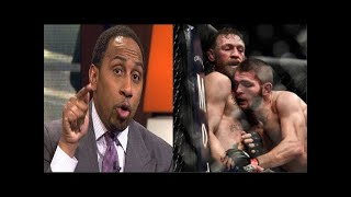 Stephen A. Smith says Conor McGregor deserve a rematch vs. Khabib Nurmagomedov