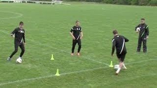 Master ball control   Soccer training drills   Nike Academy