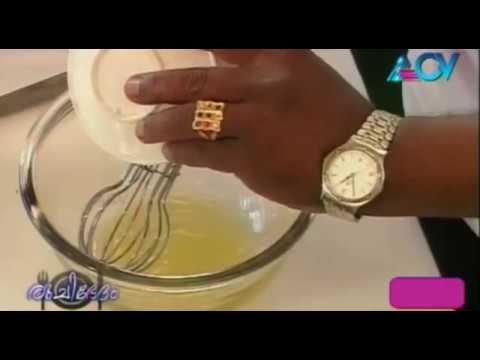 Ruchibhedham - Apple Pudding