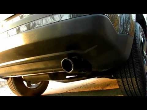 2011 Jeep Patriot with 60 series Flowmaster exhaust