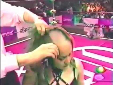 Public Head Shave - A Forced Headshave In Wrestling Ring