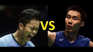 LEE CHONG WEI VS ANTHONY SINISUKA GINTING - HIGHLIGHTS