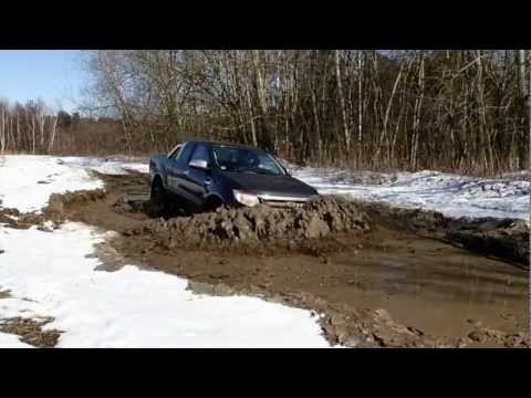Ford Ranger Off Road Test
