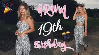 GRWM ♡ MY 19TH BIRTHDAY MAKEUP & OUTFIT | Paige Secosky