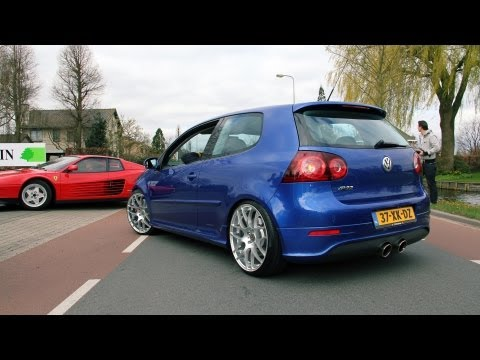 Golf V R32 w/ Milltek exhaust - Fast drive by!! 1080p HD