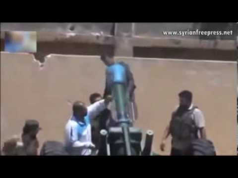 Syrian Rebels Using Chemical Weapons in Syria