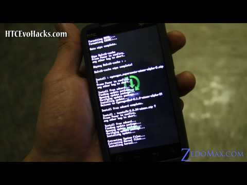 How to Install Cyanogen Mod ROM for HTC Evo 4G!