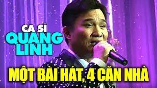 """Ca sĩ """"đại gia"""" Quang Linh: Một bài hát mua bốn căn nhà mặt tiền"""