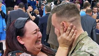 Most HEARTWARMING Military Homecoming Surprises!