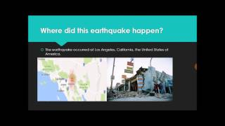 The Northridge Earthquake Open Oregon State