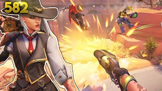 NEW Hero Reveal: ASHE!! | Overwatch Daily Moments Ep.582 (Funny and Random Moments)