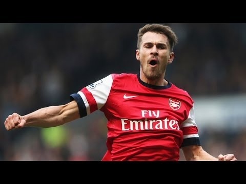 Aaron Ramsey - Top 10 Goals (2013-14)
