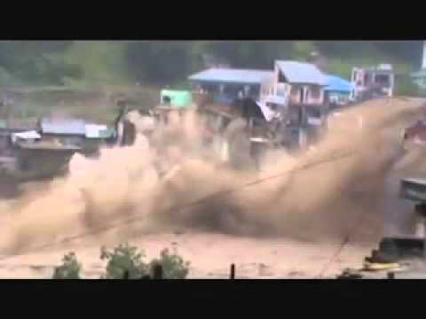 Flood In Swat Pakistan video