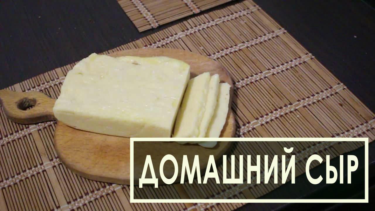 Сыр в домашних условиях из молока без яиц