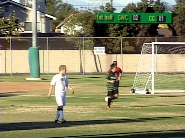 Golden West College Men's Soccer Playoff vs Chaffey 11-24-12
