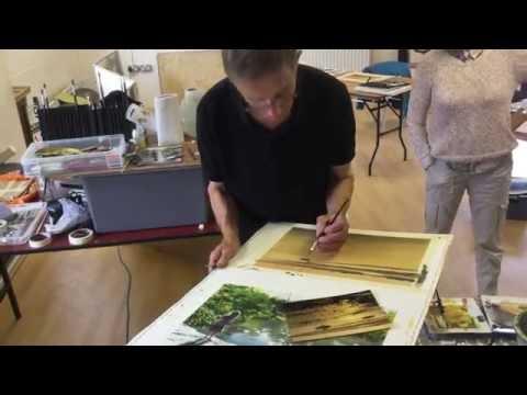 Joe Francis Dowden: A watercolour seascape.